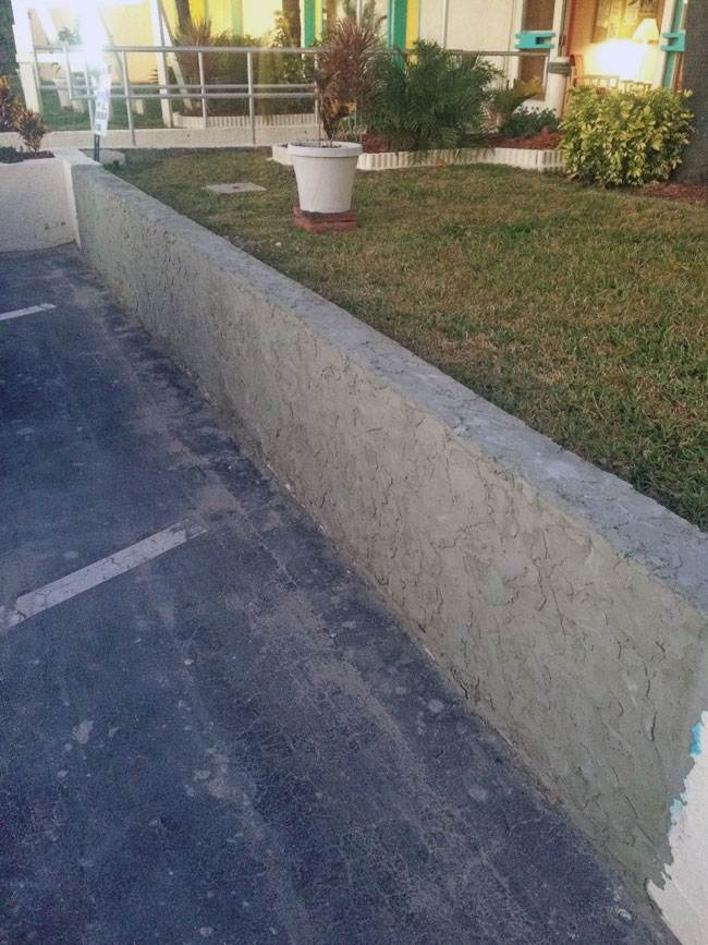 Beach Island Resort Concrete Block Stucco - 15
