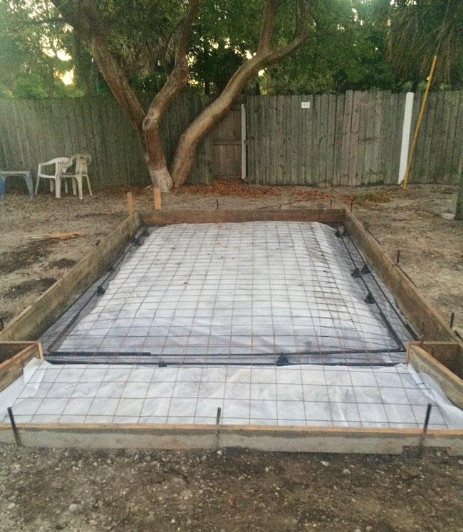 Beachside Storage Concrete Foundations Indialantic, Florida 01