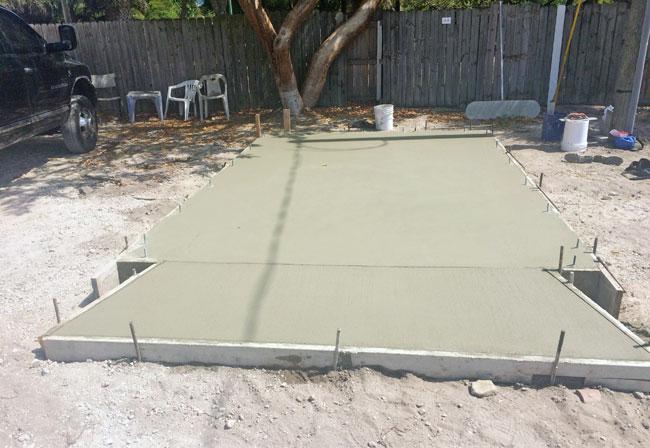 Beachside Storage Concrete Foundations Indialantic, Florida 05