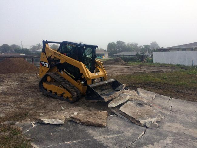 Concrete Demolition & Sitework, Merritt Island, Florida 01