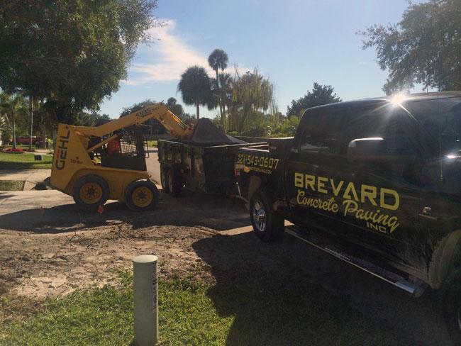 Concrete Driveway Rockledge, Florida 02