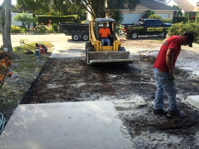Concrete Driveway Rockledge, Florida 03