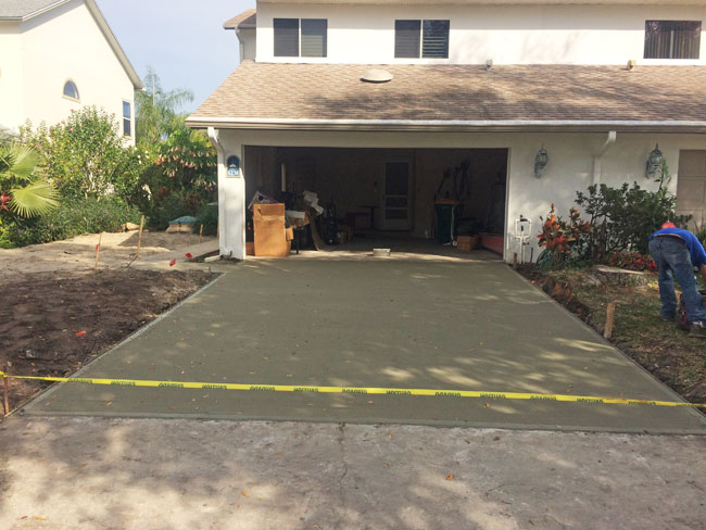 Concrete Driveway Rockledge, Florida 06