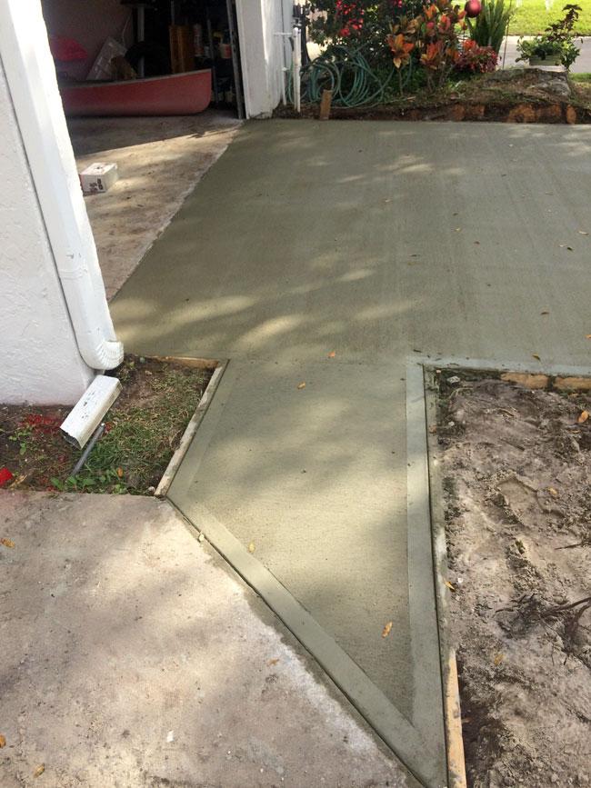 Concrete Driveway Rockledge, Florida 07