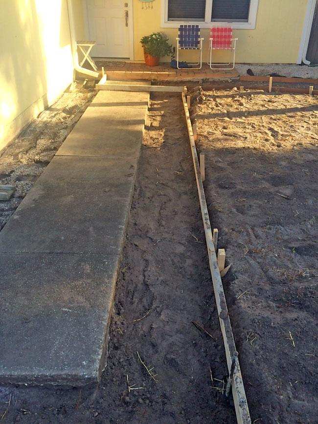 Concrete Driveway & Sidewalk Cape Canaveral - 04