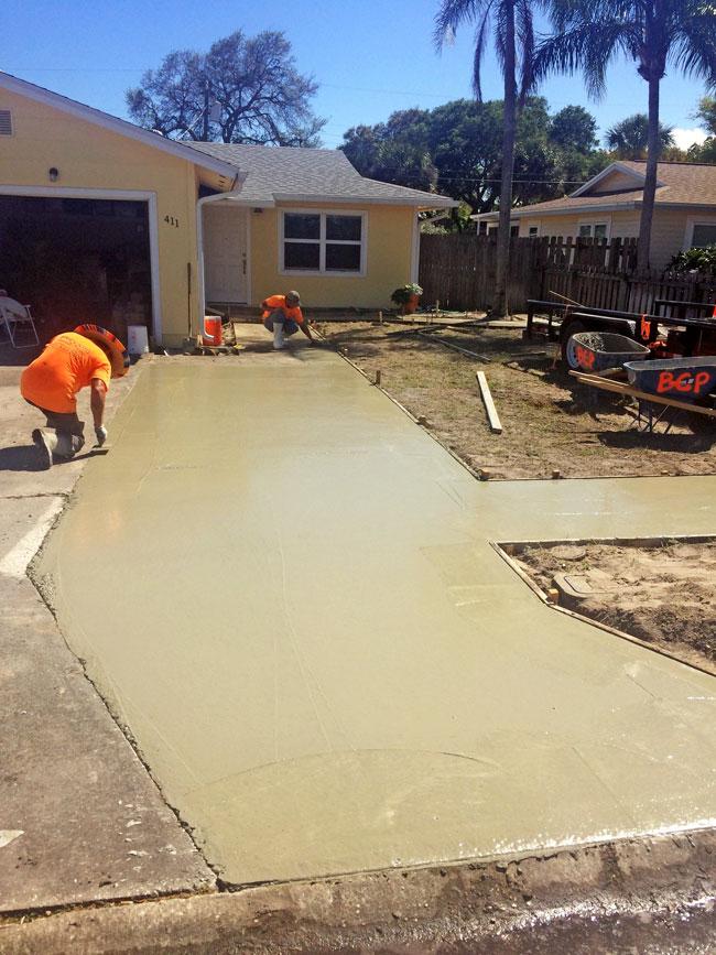 Concrete Driveway & Sidewalk Cape Canaveral - 12