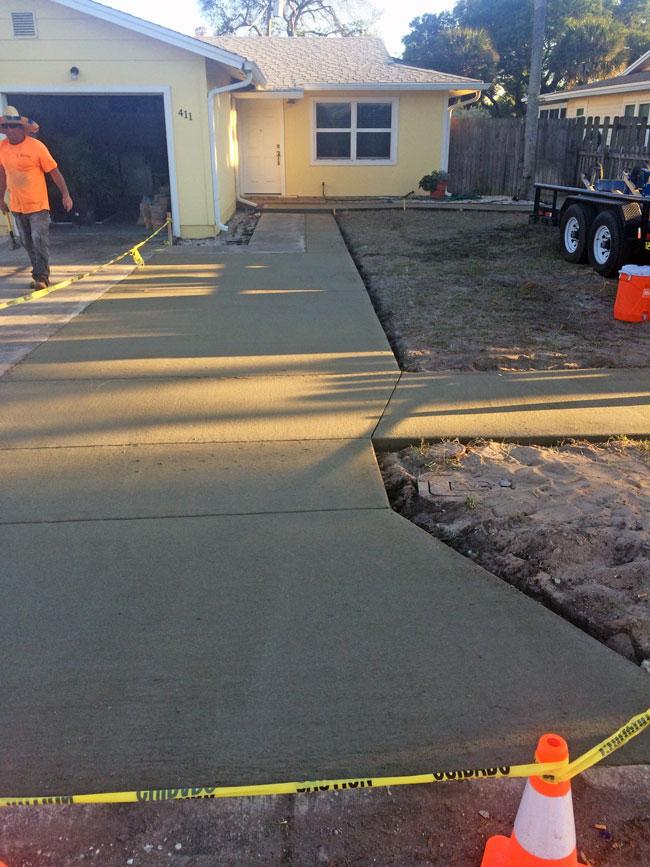 Concrete Driveway & Sidewalk Cape Canaveral - 13