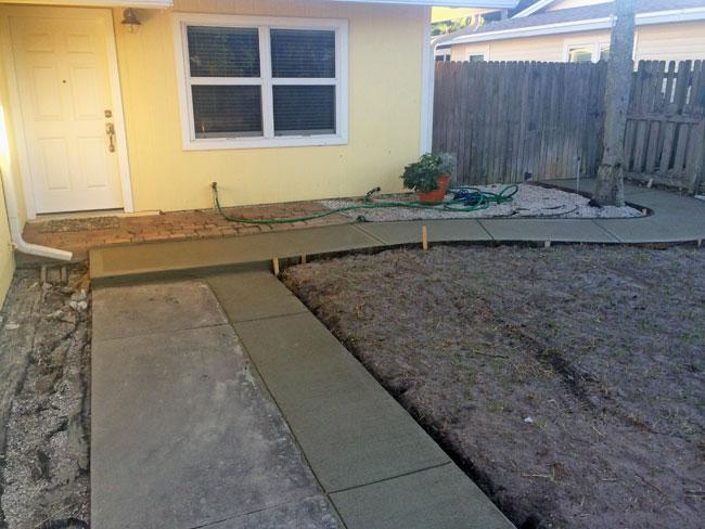 Concrete Driveway & Sidewalk Cape Canaveral - 14