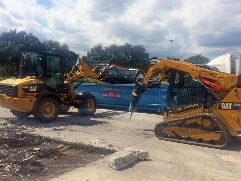 Concrete Demolition Contractor, Brevard County, FL - 02