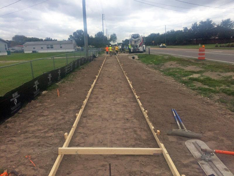 FDOT Concrete Sidewalk Brevard County FL