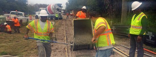 Fdot Airport Concrete Paving Projects Brevard Concrete