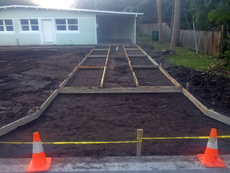 Custom Concrete Driveway Merritt Island FL - 03