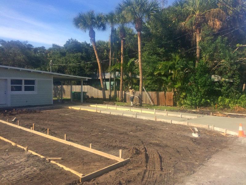 Custom Concrete Driveway Merritt Island FL - 07