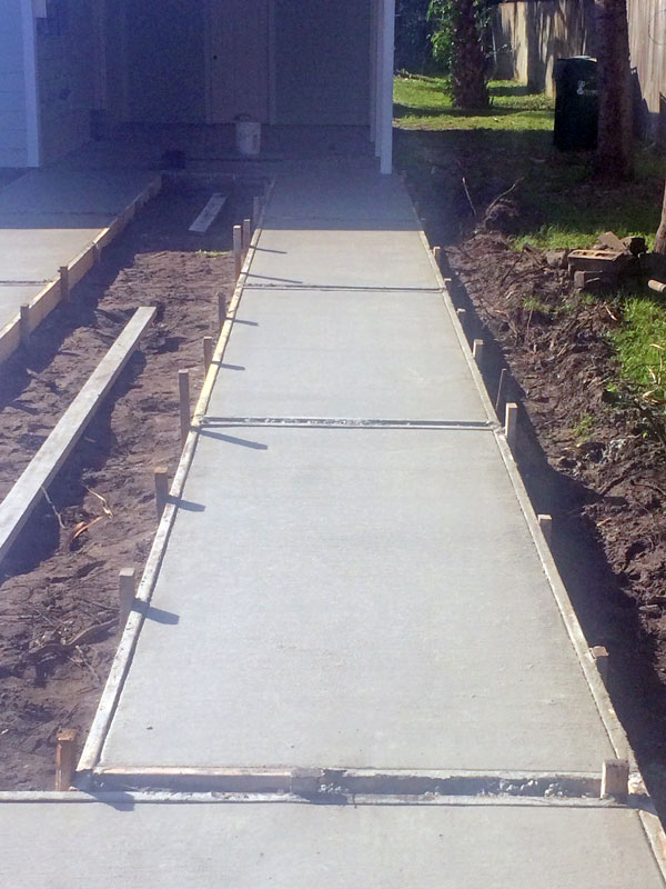Custom Concrete Driveway Merritt Island FL - 10