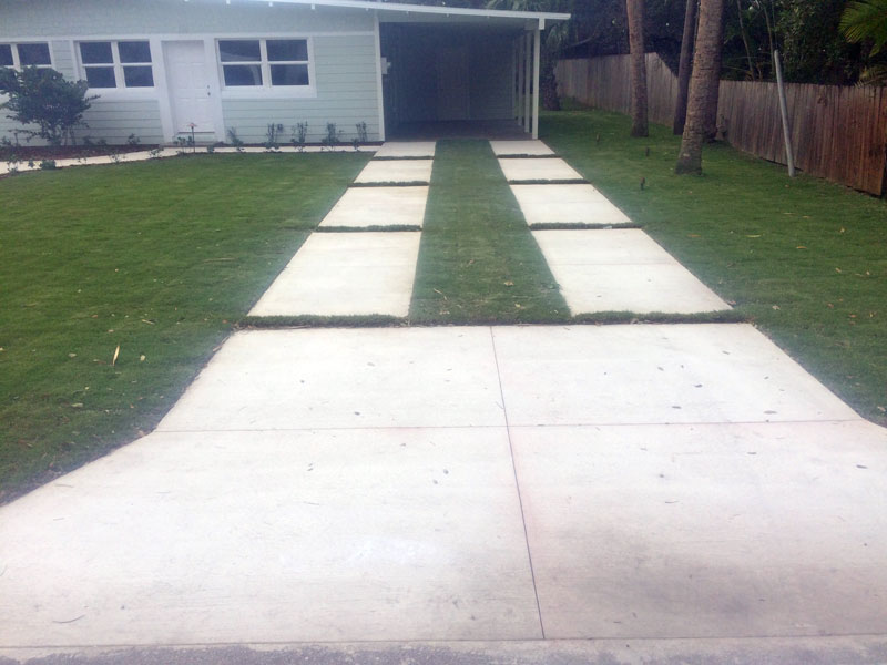 Custom Concrete Driveway Merritt Island FL - 17