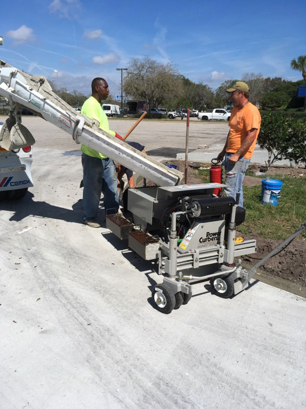 Concrete Curbing Contractor Brevard County Florida 03