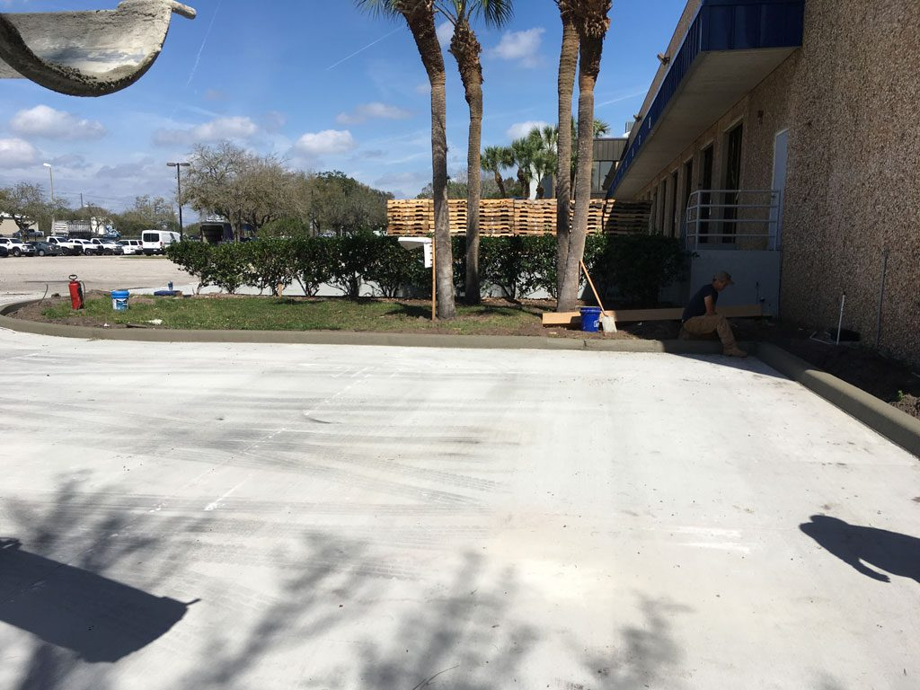 Concrete Curbing Contractor Brevard County Florida 06