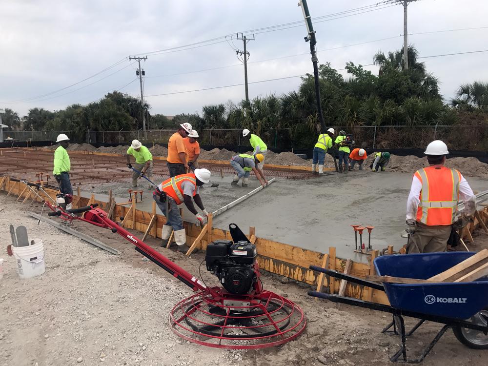 Commercial Concrete Contractor, Cocoa Florida - 04