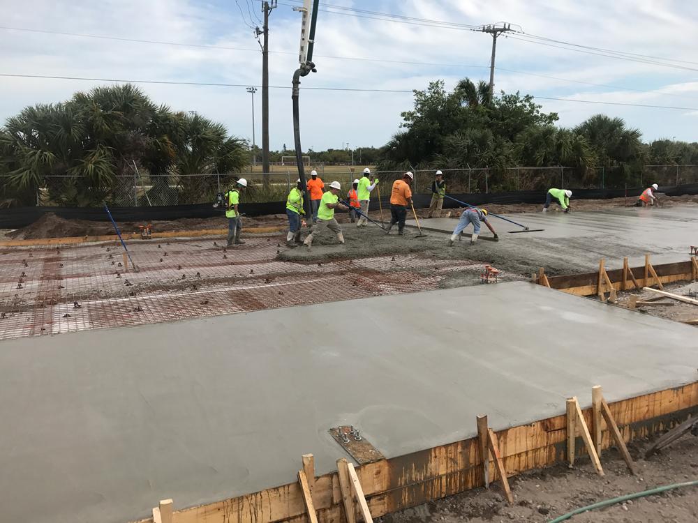 Commercial Concrete Contractor, Cocoa Florida - 07