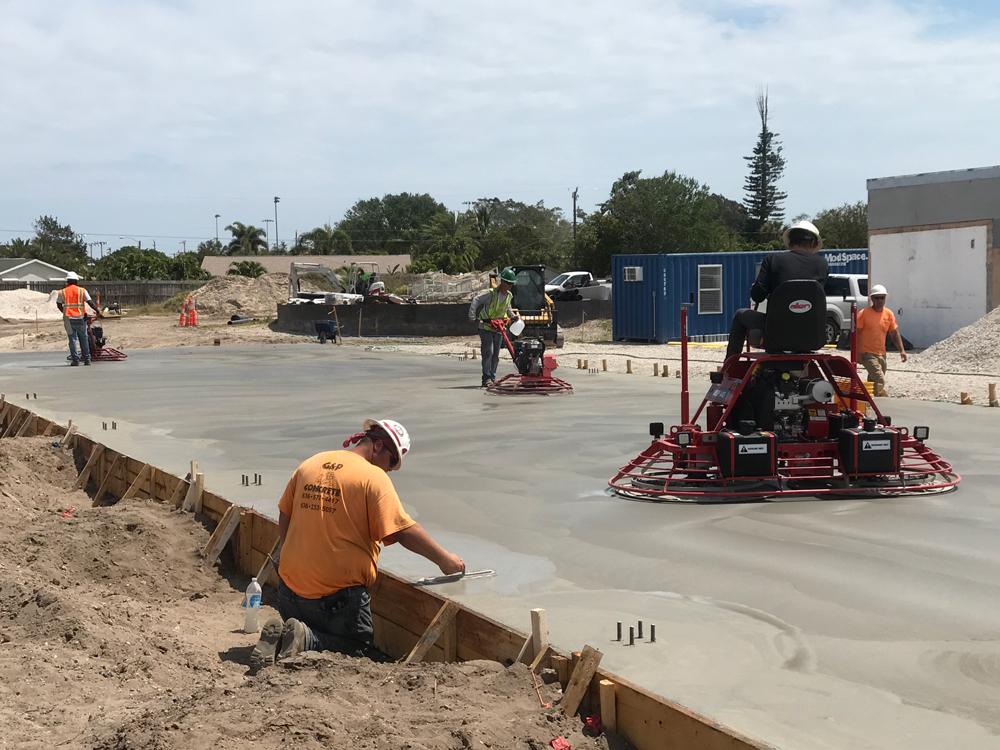 Commercial Concrete Contractor, Cocoa Florida - 18