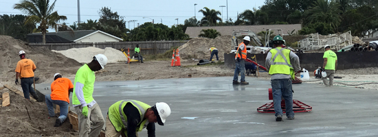 Commercial Concrete Contractor, Cocoa Florida - Main