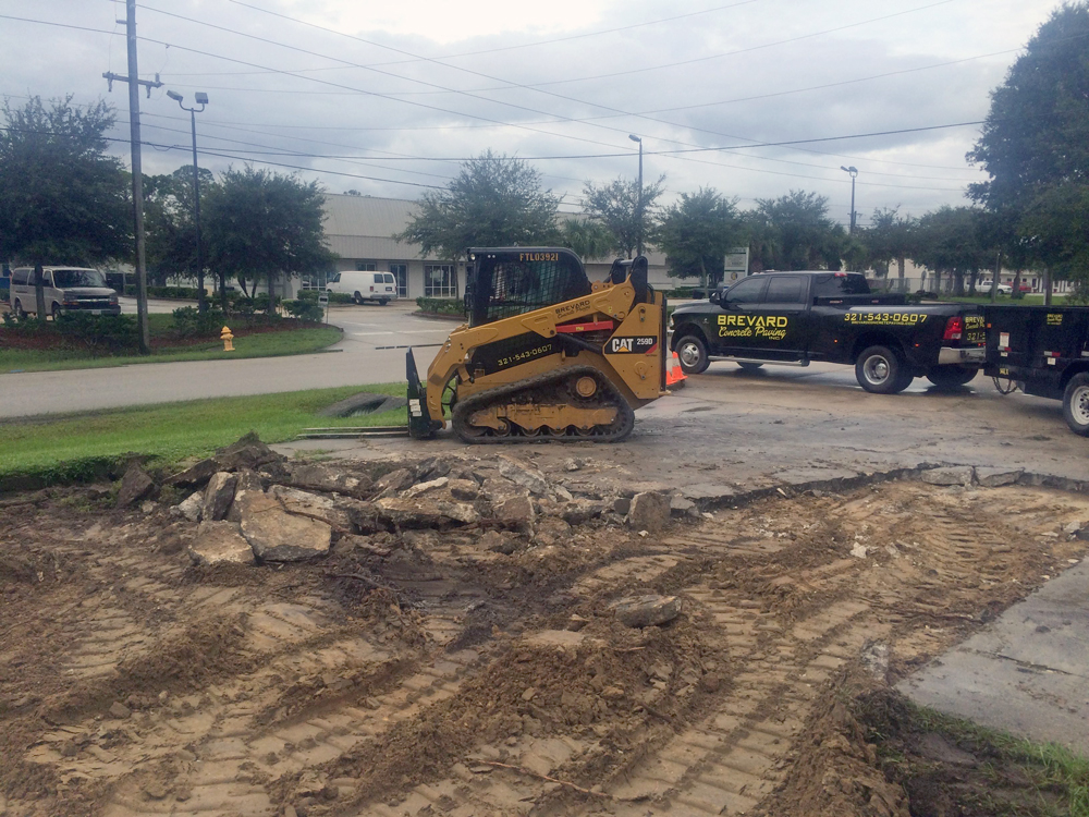 Commercial Concrete Contractor in Melbourne, Florida - 03