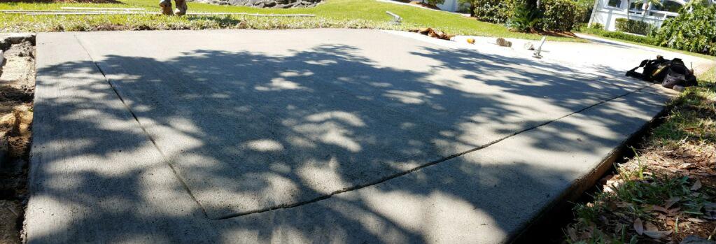 Concrete Driveway Contractor, Cocoa, Florida 04