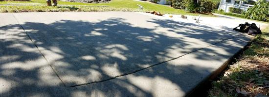 Concrete Driveway Contractor, Cocoa, Florida