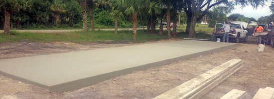 Concrete Slab in Cocoa, FL - Main