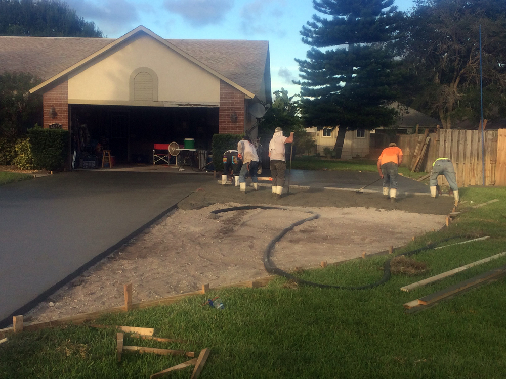 Residential Concrete Contractor in Cocoa, FL - 07