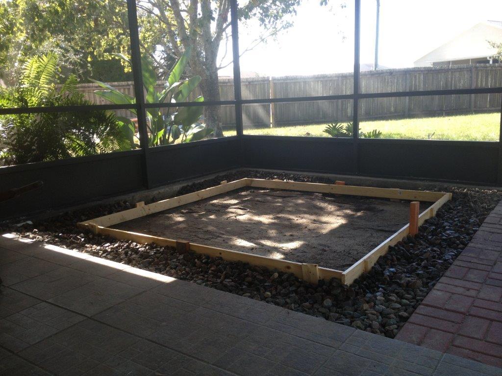 Melbourne Florida Concrete Pads