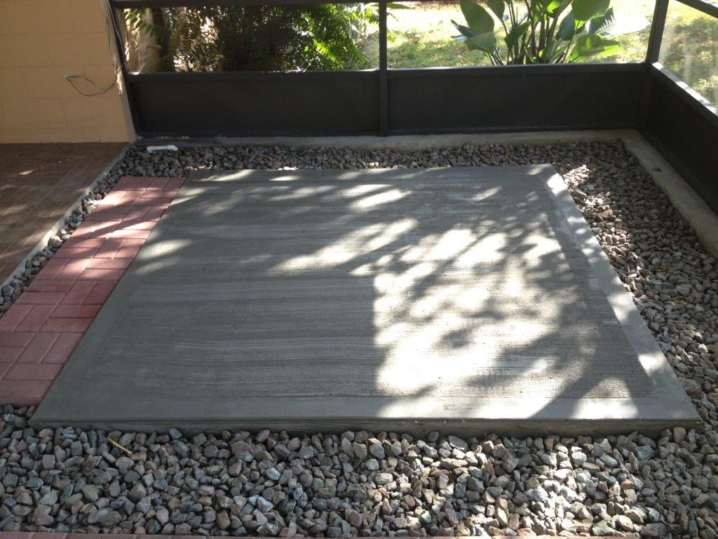 Concrete Pads Brevard Co Florida