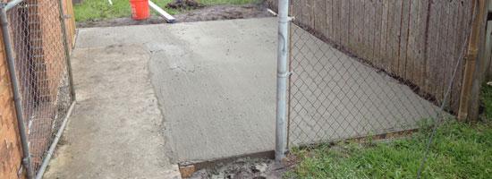 Concrete Pads Brevard County