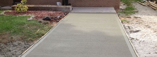 New Concrete Driveways