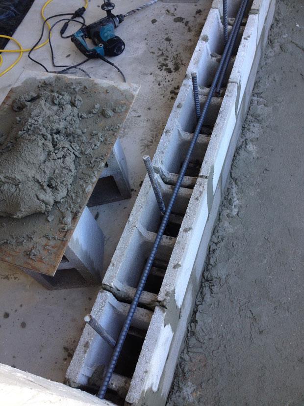 Brevard Concrete Block Wall Addition 03