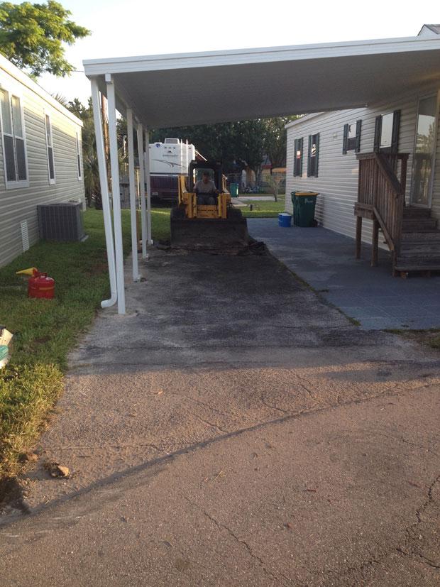 Cocoa, Florida Concrete Driveway 01