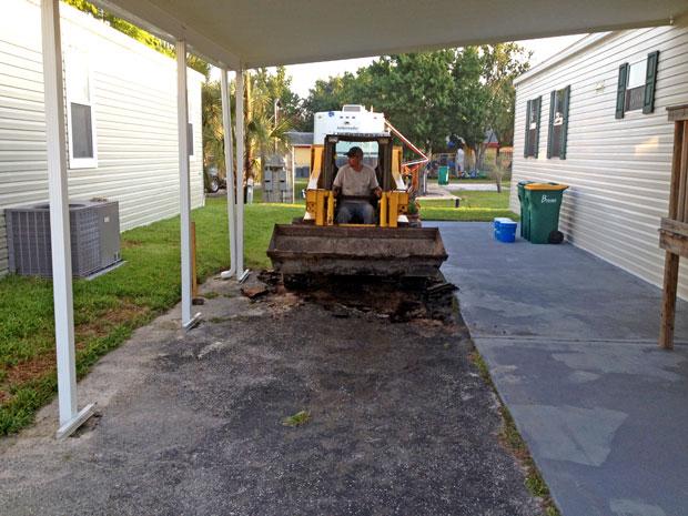 Cocoa, Florida Concrete Driveway 02