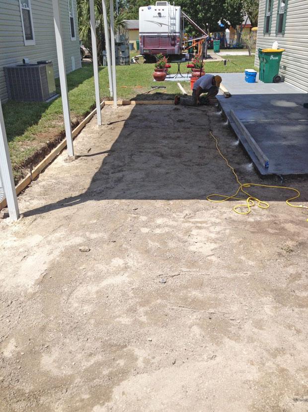 Cocoa, Florida Concrete Driveway 04
