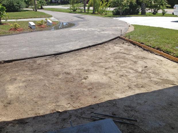 Cocoa, Florida Concrete Driveway 05