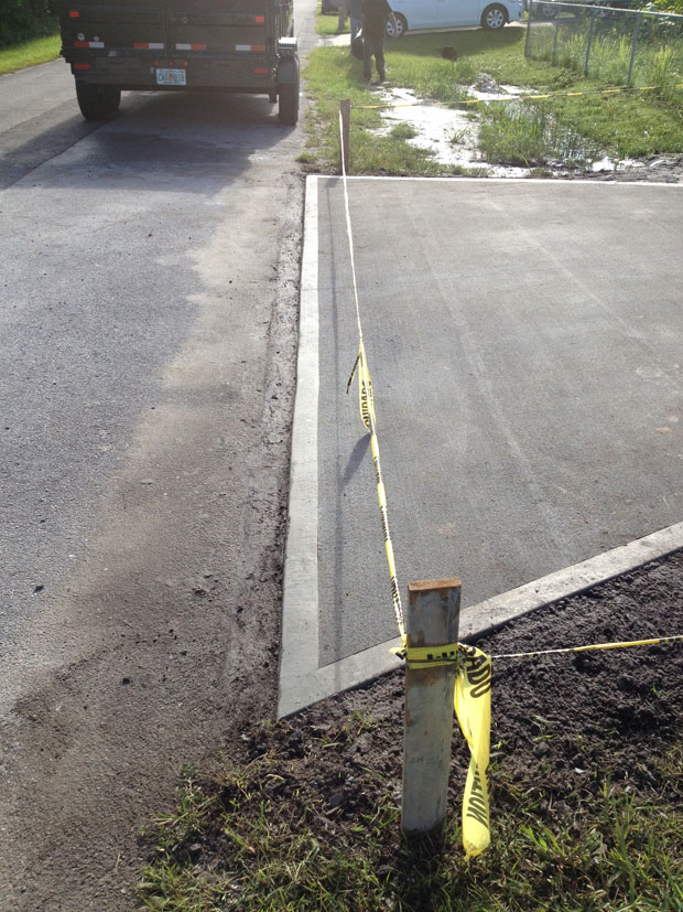 Concrete Driveway with Culvert in Palm Bay, FL 08