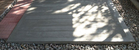 Concrete Pads and Slabs Florida