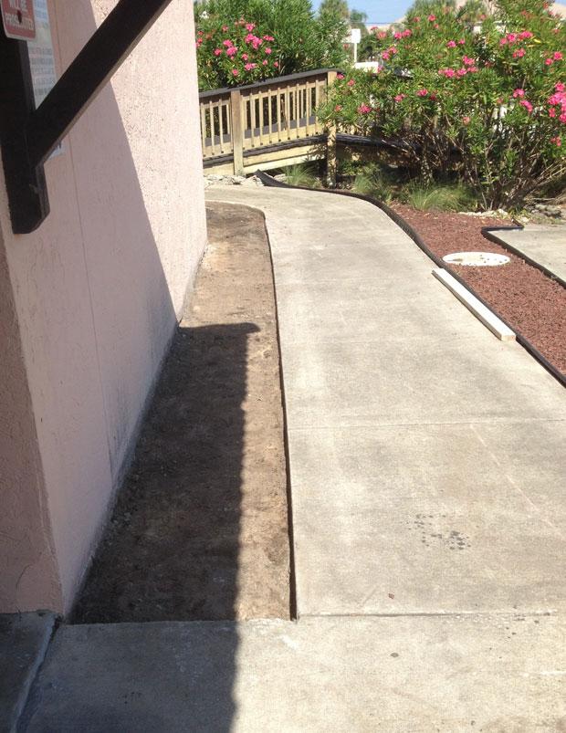 Las Olas Beach Club Concrete Walkway-01