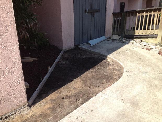 Las Olas Beach Club Concrete Walkway-02