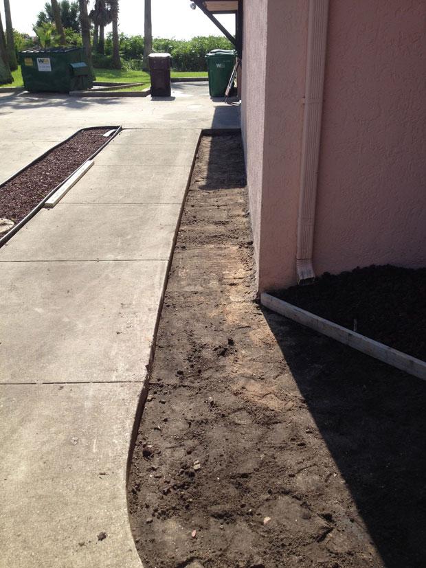 Las Olas Beach Club Concrete Walkway-03