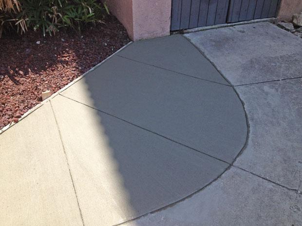Las Olas Beach Club Concrete Walkway-07