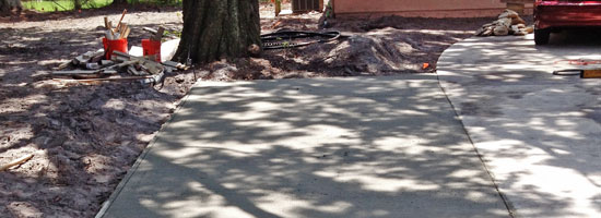 Best concrete company for driveway extensions in Merritt Island, Florida