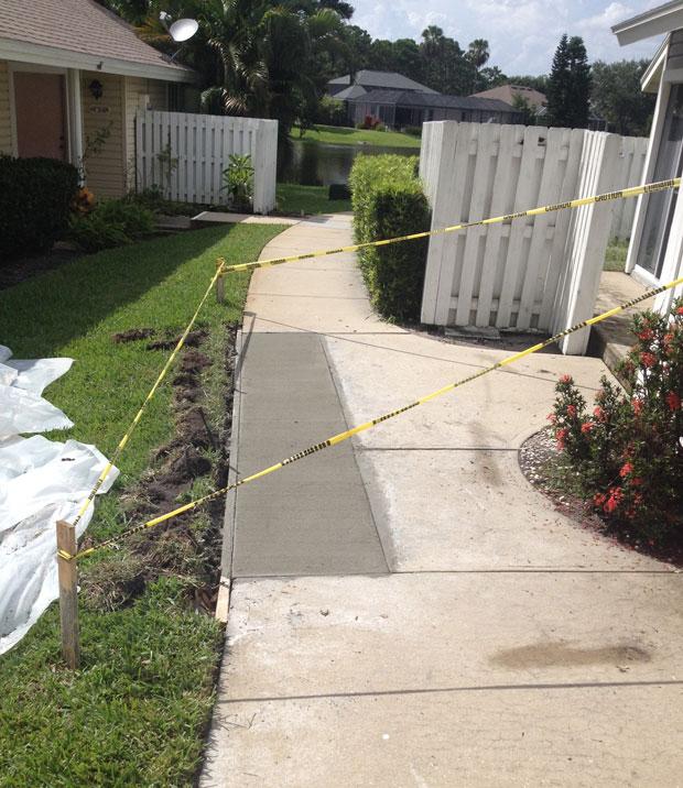 Players Club Concrete Sidewalk Repairs-06