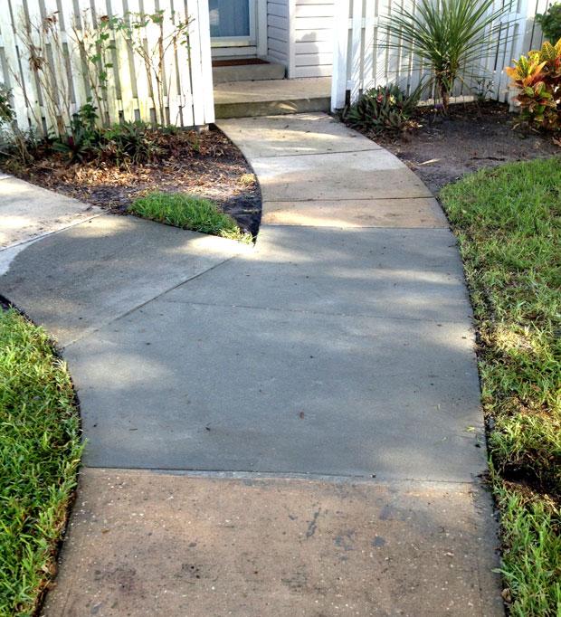 Players Club Concrete Sidewalk Repairs-07