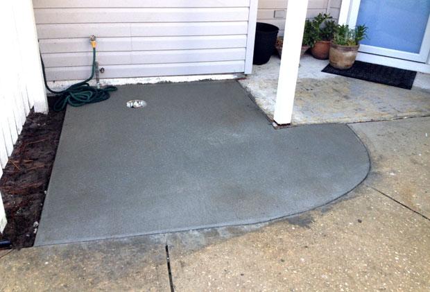 Players Club Concrete Sidewalk Repairs-10