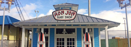 Ron Jon Surf Shop Concrete Foundation